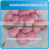 Bromadiolone 0.005% Wax Block Bait 98% TC / Rodenticides / CAS 28772-56-7