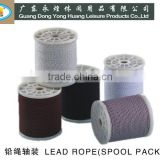 30G curtain rope/ curtain lead weight /lead core rope/ rope /lead line/ lead band for curtain