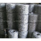 Anping factory plastic barbed wire galvanized decorative barbed wire fencing with ISO9001 certificate
