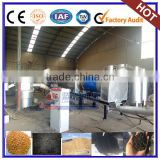 Most advanced continuous rotary sawdust carbonization furnace machine