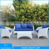 China Supplier Water-proof Synthetic Rattan Patio / Balcony Furniture Sofa Sets
