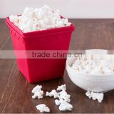 Healthy Microwave Popcorn Popper - No Oil Needed - Silicone Micro Popcorn Maker