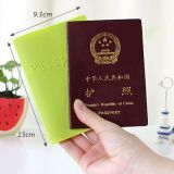 Custom Color Silicone Soft Passport Protective Peel