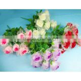 Sleek realistic artificial silk flower rose silk hydrangea flowers artificial with nice price