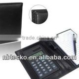 Hot selling Practicable 8 Digits promotional calculator with Notebook