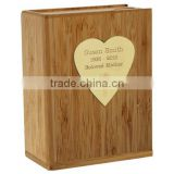 Sliding Bamboo Cinerary Casket For Adult