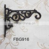 cast iron bracket crafts and rack,rectangular frame