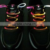 Wholesale colourful cheap LED shoelace fou younger