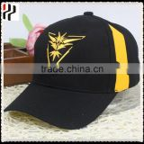 Custom beautiful baseball cap fashion trucker cap plain denim cap with embroidery woven label