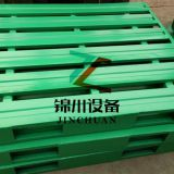 Folding Galvanized Stainless Steel Warehouse Euro Pallet Brushed