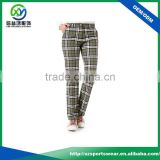 Popular style high quality waterproof outdoor sublimation printing design women's pants/sport long pant/golf pants