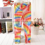 2014 new arrival girl leggin printed kids leggings sexy tight pants girls tight jeans pants Clgs1009