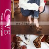 Leopard Print Platform High heel Shoes Italian Shoes For Ladies