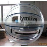 Inflatable PVC clear water ball with customized logo