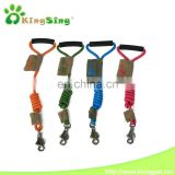 Comfortable hand-held traction nylon rope for dog leash, Handsfree Durable Running Dog Leash for Running, Jogging, Walking