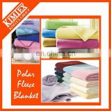Micro-fiber polyester polar fleece blanket with printed pattern
