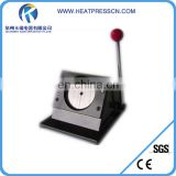 New type Badge making machine with 25mm/32mm/44mm/58mm/75mm inserting round mould