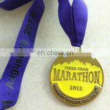 Custom metal marathon medallion