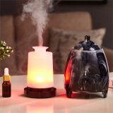 Zuoqi colorful led light Resin material essential oil humidifier ultrasonic air oil diffuser