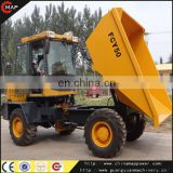 10 Years Manufacturer FCY50 5ton site dumper mini truck dumper