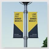 China supplier street banner lamp poster inkjet printing service