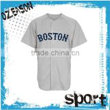 exported fashional design blank white softball / baseball jersey uniform for competition