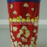 64oz popcorn tin bucket