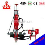 Partner of compressor KQD100 mobile down the hole drilling rig for quarry use