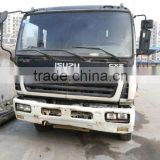 used concrete mixer truck 6*4 10m with pump /secondhand original Japan-made mixer truckin shanghai