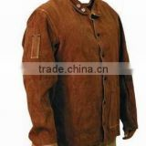 Welding Clothing / Working Gloves / Cow split leather Brown Gloves