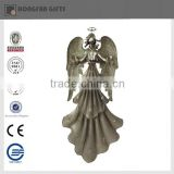 elegent cheap metal angel sculpture