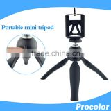 procolor PRO-MS5 mini tripod 4 inch plastic grips aa battery powered ring led light cam slider