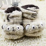 little bear baby socks baby toddler shoes Christmas socks lovely wholesale shoes