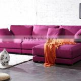 Pink fabric sofa set designs high quality cheap sofa loveseats sets legless chesterfield sofa colorful sofa