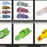 2014 Wholesale pink/white/yellow/red Hotel Disposable Foam Pedicure Slippers Multi Color Flip Flop Salon Nail Spa