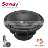 Cometa CT-1520 15inch 2500W dual voice coil best car powest subwoofer/car audio subwoofer