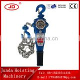 China popular Construction Hoist Usage 0.75~9T capacity VA Type Lever Hoist, Lever Block G80 steel chain