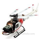 XK AS350 K123 6CH 3D 6G System Brushless Motor RTF Helicopter RC Helicoptero Radio Controle