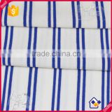 Rayon elastane fabric textile ,fashion stripe t shirt farbic