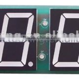 1.5 inch red led digital clock pcb module