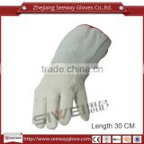 SEEWAY Sheepskin Cow Leather Sewed Shell Cotton Lining Ant freezing Glove Resist Low Temperature