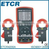ETCR4200A Double Clamp /Three Phase Digital Phase Meter ----Manufactory, RS232 interface