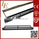 Hot sale Amp Cat6 24port Patch Panel