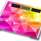 solar scale bath scale glass top scale electronic scale digital bathroom scale personal scale body weight scale weighing monitor