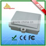 High quality FTTH 1x8 core outdoor fiber optic termination box outdoor