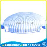 OEM Durable PVC Outdoor White Giant Permanent Dome Tent Shell Tent For Big Event / Party