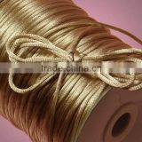 Satin cord Jewelry making supplies-Ivory white color china knot satin cord for jewelry DIY making and craft supplies