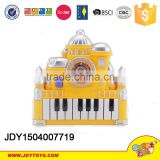 2015 toys Castle keyboard Intelligence musical instrument keyboard toys, education piano toys for kids