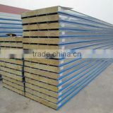 Fireproofing Rock wool sandwich wall panel widely use