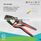 DR-0510GF crimping copper aluminium connecting terminals for connector female terminal tool